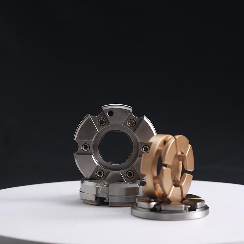 Fixed-pad thrust bearing