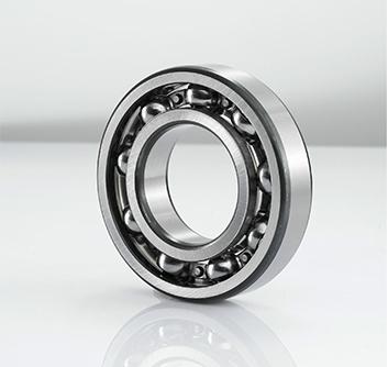 Super width series deep groove ball bearing